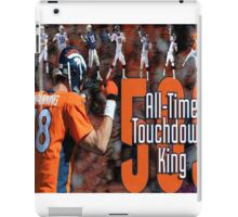 Peyton Manning touchdown king iPad Case/Skin