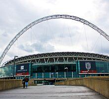 Wembley Stadium by Jon Lewis