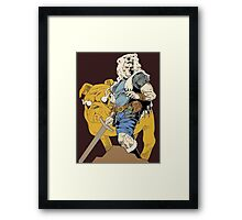 Adventurous Timing ~ Colored Heroes Framed Print