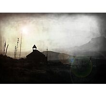 Living in Ghost Town Photographic Print