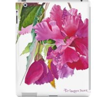 Ruffled Begonia Watercolor iPad Case/Skin