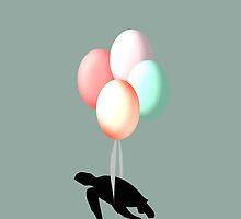 Turtle Balloons by galeriebavard