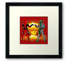Epic bro fist Framed Print