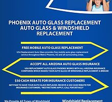 Auto glass replacement phoenix by usareplacement