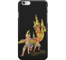 THAI serpent at the airport iPhone Case/Skin