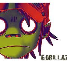 Gorillaz by fuka-eri