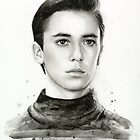 Wesley Crusher Star Trek Fan Art by OlechkaDesign