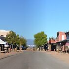 Allen Street, Tombstone, Az. 2014 Helldorado Day's by Ann Warrenton