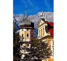 The abbey of Stams in Tyrol Austria Photographic Print