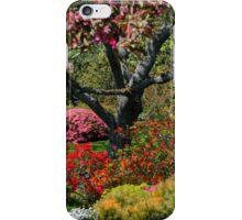 Abkhazi Gardens Victoria Vancouver Island BC iPhone Case/Skin