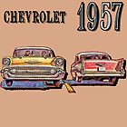 1957 Chevy by Mike Pesseackey (crimsontideguy)