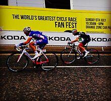 Tour de France 1 by Robert Steadman