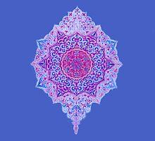 happy flower charm blue by Merrmerr