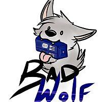 Bad Wolf! :D by Kikeri Arts