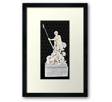 Sherlock+John - Statue of heavenliness Framed Print
