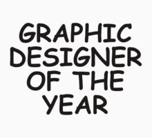 Graphic Designer Of The Year by GregWR