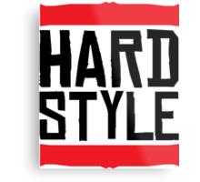 Hardstyle Raw Metal Print