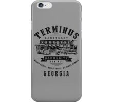 Terminus Sanctuary Community (dark) iPhone Case/Skin