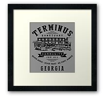 Terminus Sanctuary Community (dark) Framed Print