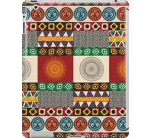 Seamless mayan, aztec pattern iPad Case/Skin
