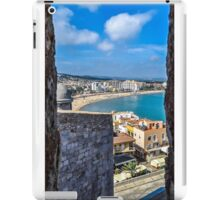 Peñiscola from the fortress iPad Case/Skin