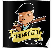 Malarazza Logo Color Poster