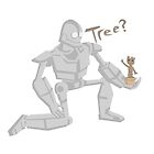 Tree? Iron giant meets Groot by somethingdiffer