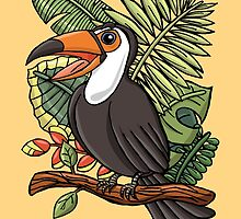 The Smile Toucan by haidishabrina