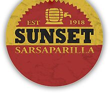 Fallout 3 Sunset Sarsaparilla T-shirt by ShadeDesigns