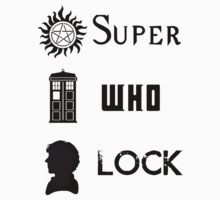 SuperWhoLock Kids Clothes