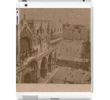 Lesser Saint Mark Square,Venice,Italy iPad Case/Skin