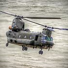 Chinook as Seen From Beachy Head -  HDR - Airbourne 2014 by Colin J Williams Photography