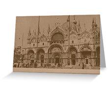 The Church of Saint Mark,Venice,Italy Greeting Card