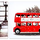Merry Christmas Routemaster & London Guard by ©The Creative  Minds