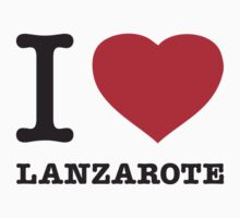 I ♥ LANZAROTE by eyesblau
