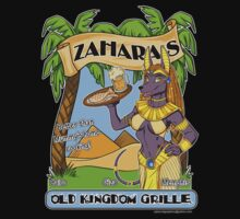 Zahara's Old Kingdom Grille Restaurant Parody  by cybercat