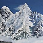 Everest and Nuptse from Kala Pattar by Jan Vinclair