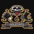 Full Throttle Polecats Retro Pixel DOS game fan shirt by hangman3d