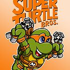 Super Turtle Bros - Mikey by moysche