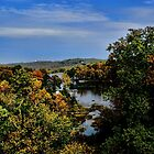 Cherokee Lake Autumn by Rick  Friedle