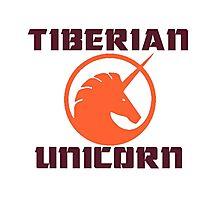 tiberian unicorn Photographic Print