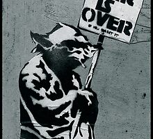 "Yoda says ""War is Over"" by Tim Constable"