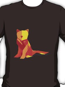 Abstract vector cat by TKR Art T-Shirt