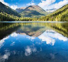 Alpine Lake by Walter Quirtmair