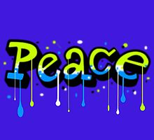 Peace Graffiti by LadyLoveBird