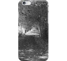A Walk Around Hazelbank .. Autumn Lane iPhone Case/Skin