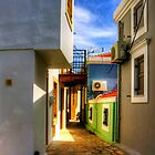 Chalki Alleyway by Tom Gomez