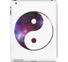 Ying and yang galaxy iPad Case/Skin