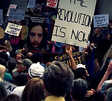 The Revolution Is Now. by Ben Loveday