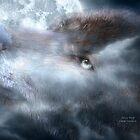 Silver Wolf by Carol  Cavalaris